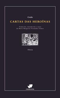 Portada de Cartas das heroínas. Autor   María Margarita Fernández Gómez